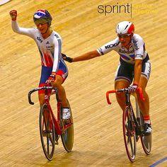 Laura Trott wins Goldmedal scratch Europeanchampionships 2015 (Bettini Photo)