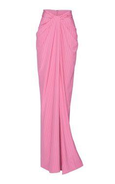 Brandon Maxwell Trunkshow | Moda Operandi Maxi Skirt Fall, Knit Skirt, Brandon Maxwell, Satin Skirt, Designing Women, Creations, Style Inspiration, Fashion Outfits, How To Wear