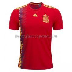 Camisetas De Futbol Selección España Copa Mundial 2018 Primera Equipación e98bb6379cab5