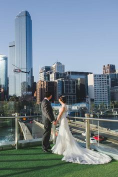 """""""Thank you again for all your help in coordinating and helping us through our wedding day. You went above and beyond and we are really grateful and thankful for that!"""" #weddingvenue #melbournewedding #realweddings"""