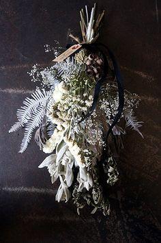 Door Swag, Color Pallets, Ikebana, Dried Flowers, Wreaths, Halloween, Bouquets, Green, Flowers