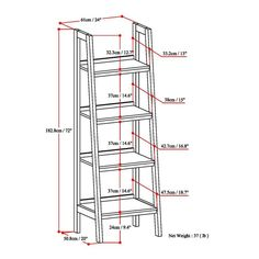 We love ladder shelves! They are utlimately practical and functional as well as a beauty to behold. Sawhorse collection has two different types of ladder shelves - one with bottom drawer storage, and one without. You can use them individually, in a run - with multiple units strung together, or with our TV stand or office desk. These attractive units can be used in almost any room of the house for fully functional and attractive storage.