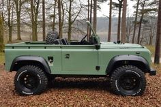 This Ex-Military Land Rover Defender Pickup Could Be Yours Land Rover Defender Pickup, Defender 90, Mario Andretti, Italian Army, Fiat 500, Series 3, Automotive Industry, Pick Up, Le Mans