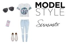 """""""Untitled #5"""" by albertenowak on Polyvore featuring beauty, Aéropostale, River Island, Converse, Casetify and The Row"""