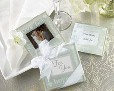 These beautiful glass photo coasters are so diverse they can be used for wedding favors, bridal shower favors or baby shower favors. Use them as place card holders by inserting cards with guests names and table numbers. A unique addition to any table! Unique Wedding Favors, Unique Weddings, Wedding Gifts, Wedding Ideas, Wedding Wishes, Wedding Stuff, Wedding Venues, Wedding Inspiration, Wedding Reception