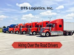 DTS Logistics, Inc., is hiring over the road Truck Drivers. Truck Driving Jobs, Driving Test, Class A Driver, Used Cell Phones, Operations Management, France, Library Of Congress, How To Introduce Yourself, Transportation