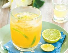 Anti-Inflammatory Drink from Juicing For Health - pineapple, lime, ginger...  sounds tasty!
