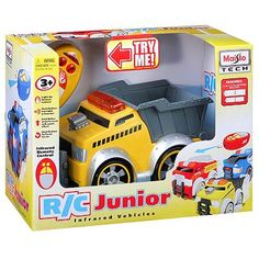 RC Junior Remote-Controlled Dump Truck-Kenny