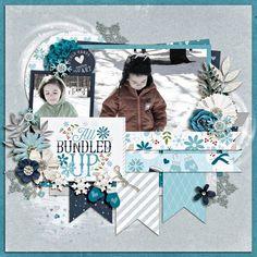 Résultats de recherche d'images pour «winter scrapbook layouts»