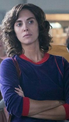 "My latest hair crush... Alison Brie ""Ruth"" on Netflix's ""Glow"" Zoya the Destroya"