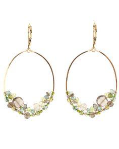Dana Kellin Forest Mix Hoop Earrings