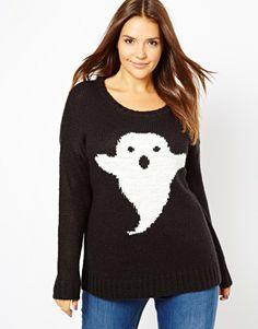 New Look Inspire | New Look Inspire Ghost Jumper at ASOS