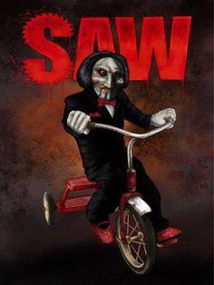 Scary Movie Characters, Scary Movies, Jigsaw Tattoo, Jigsaw Movie, Jigsaw Saw, Horror Photos, Creepy Images, Slasher Movies, Horror Artwork