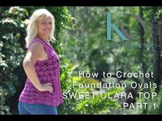 Sweet Clara Crochet Top Free Pattern and Video Tutorial