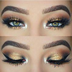 Pinterest: @treble1098 Pretty recreate this look with Youniques Splurge Cream Eyeshadow. .