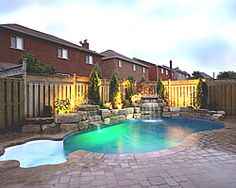 small backyard pools - Google Search