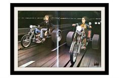 DAVID MANN women on motorcycles