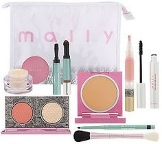 MALLY BEAUTY Makeup COLLECTON   ... Makeup...: Mally Beauty Just Heaven 8-piece Brightening Collection