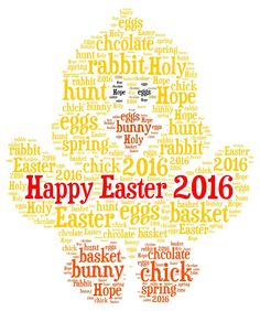 Personalised word art #happy easter, chick, print, #keyring, #fridge magnet, card,  View more on the LINK: http://www.zeppy.io/product/gb/2/252291098313/