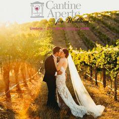 Cantine Aperte for Wedding [27/28 Novembre 2016] L'Umbria si fa Wine Wedding Destination, proponendo le cantine, con tutto il loro ricco bagaglio di tradizione, qualità dell'accoglienza, tipicità enogastronomica e passione, come luoghi unici per ospitare il giorno del SI.