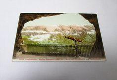 Vintage Jungfraubahn Station Eigerwand Postcard by AVintageStore