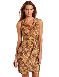 Wrap dress.