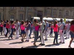 [Clip Officiel] 1er Flashmob de Kizomba à Lyon, le 18/05/2014 - YouTube