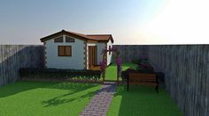 Your very own cottage in the garden.The Weaver Annexe is a beautiful cottage annexe, designed and built to the latest standards. Shed Homes, Two Bedroom Apartments, Annex, Small House Plans, Retirement Planning, Glass House, Lofts, Cabana, Tiny Houses