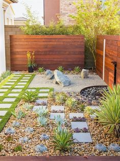 love this zen yard #BackyardGardening