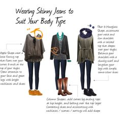 Skinny Jeans by etlamer on Polyvore