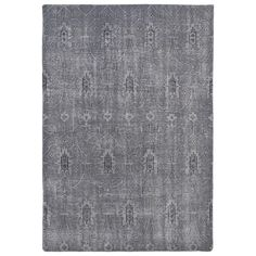 Hand-Knotted Vintage Replica Grey Wool Rug (8'0 x 10'0) - Overstock™ Shopping - Great Deals on 7x9 - 10x14 Rugs