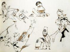 Tekkon Kinkreet Characters Art Book