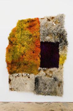 Anna Betbeze ::: Hot Hole ::: wool + acid + dyes + ash, 221 cm x cm ::: 2016 Textile Fabrics, Textile Art, Fabric Structure, Weaving Art, Anna, Textile Design, Art Boards, Collage Art, Fiber Art
