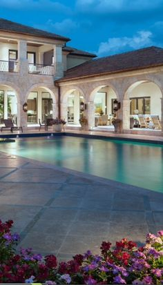 This is an amazing Luxury Pool! [ Wainscotingamerica.com ] #luxury #wainscoting #design