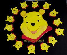 Winnie Pooh.  Foamy/ goma eva
