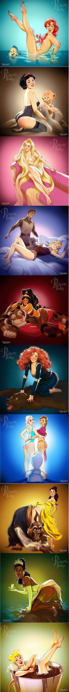Détournement érotique de Disney