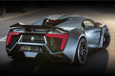W Motors Lykan Hypersport. Limited to seven cars worldwide each priced at over 3 million dollars! Germany