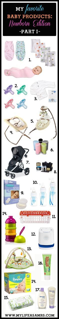 My Favorite Baby Products: Newborn Edition, Part I (Part II coming next week!) by My Life as a Mrs .