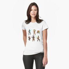 Women's Star Wars Rebels Ghost Crew t-shirt at RedBubble ⭐️The Kessel Runway ⭐️ Star Wars fashion ⭐️ Geek Fashion ⭐️ Star Wars Style ⭐️ Geek Chic ⭐️