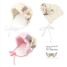 Coco Rocha Dog Hat - Ivory