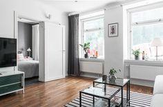 Un elegante apartamento con toques grises #hogarhabitissimo #salon