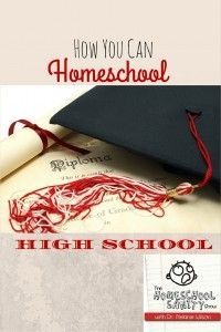 Are you worried you won't be able to homeschool high school even though you'd really like to? This episode will give you the courage you need.