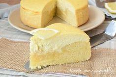 Torta cremosa ricotta e limone