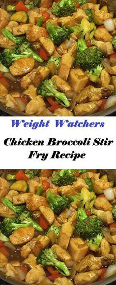 Stir Fry Recipes, Easy Recipes, Unique Recipes, Free Recipes, Skinny Recipes, Healthy Dinner Recipes, Delicious Recipes, Chicken Broccoli Stir Fry, Low Sodium Chicken Broth