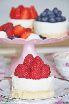 Holunderblüten Joghurt Mousse Törtchen