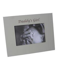 'Daddy's Girl' Frame by Havoc Gifts #zulily #zulilyfinds