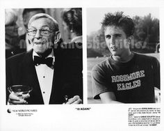 """Movie Still / Publicity Photo / Press Kit Promo Title: 18 Again! Star(s): Charlie Schlatter, George Burns Genuine Black and White glossy photograph Approximate size: 8"""" x 10"""" (205mm x 255mm) Condition"""