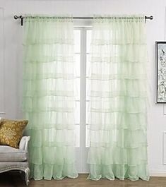 Multi Layer Lace Curtain For Girl S Bedroom Semi Shade Blinds