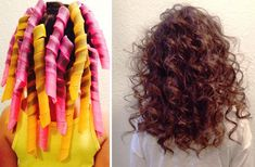 Extra Long Spiral Curlers - Perfect for the mom with long hair and loves her curls.   Find more Mother's Day ideas at http://www.groopdealz.com/
