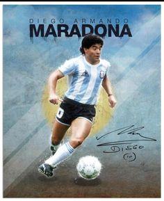 World Cup Legends Maradona